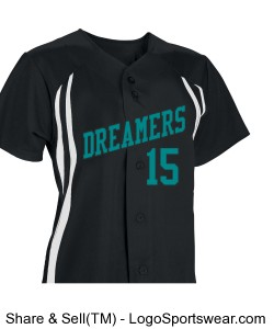 black/white with teal Design Zoom